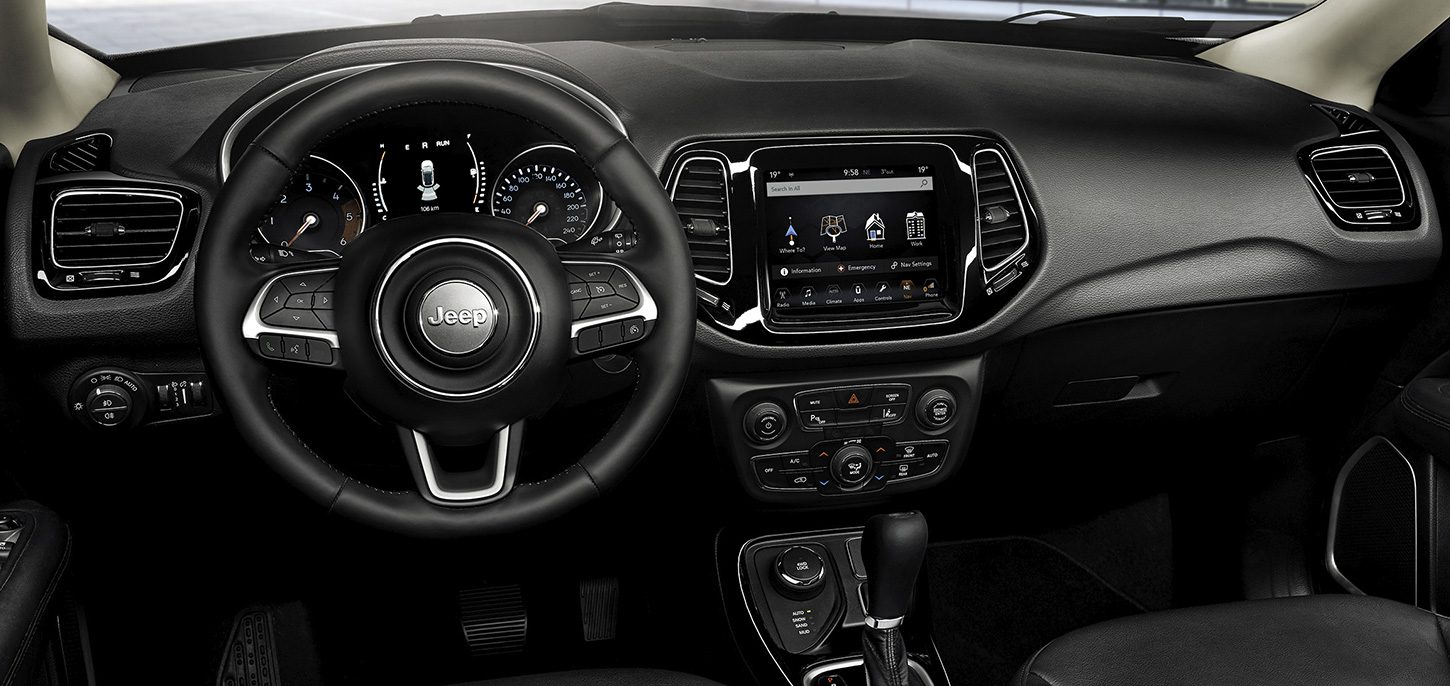Салон Jeep Compass Night Eagle